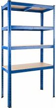 Tectake - Garage shelving unit 4 tier heavy duty -