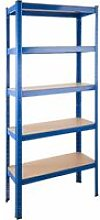 Tectake - Garage shelving unit 5 tier - metal