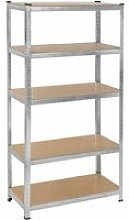 Tectake - Heavy duty garage shelving made of sheet