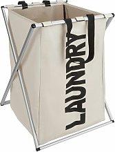 Tectake - Laundry basket single - hamper basket,