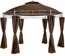 Tectake - Luxury gazebo 350 cm Siana - garden