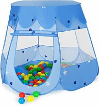 Tectake - Play tent with 100 balls for kids - kids