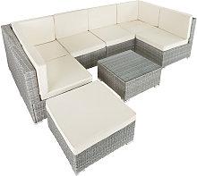 Tectake - Rattan garden furniture lounge Venice -