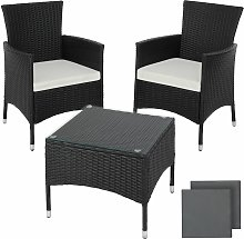 Tectake - Rattan garden furniture Set Luzern -