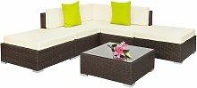 Tectake - Rattan garden furniture set Paris -