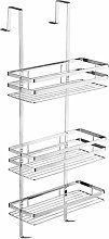 Tectake - Shower caddy stainless steel - bath