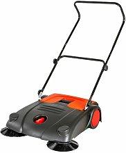 Tectake - Sweeper 20l - floor sweeper - black
