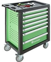 Tectake - Tool box with wheels and tools 1199 PCs.