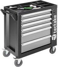 Tectake - Tool box with wheels and tools 1399 PCs.
