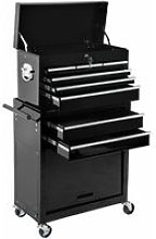 Tectake - Tool chest with 8 drawers - tool box,