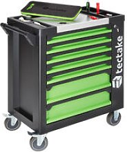Tectake - Tool Trolley with Tools 1599 PCs. - tool