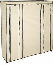 Tectake - Wardrobe Ameline - canvas wardrobe, kids