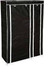 Tectake - Wardrobe Johanna - canvas wardrobe, kids