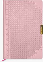 Ted Baker A5 Brogue Soft Cover Notebook, Pink