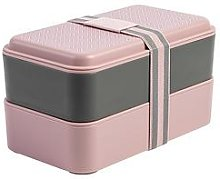 Ted Baker Stackable Lunch Box - Pink, One Colour,
