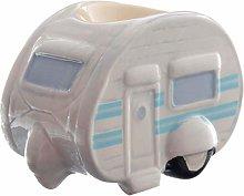 Ted Smith Ceramic Caravan Egg Cup
