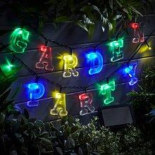 Tedder Alphabet String Lights Sol 72 Outdoor