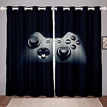 Teens Boys Gamepad Window Curtain Gamer Curtains