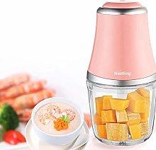 Teenza 600ML Kitchen Mini Food Chopper-Electric