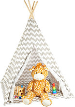 Teepee, Play Tent With Flooring, Includes Bag,