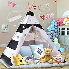Teepee Tent for Kids, Foldable Children Play Tent