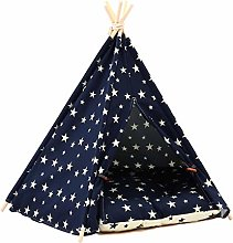 Teepee Tent for Pets, Dog Bed, Cat Bed with