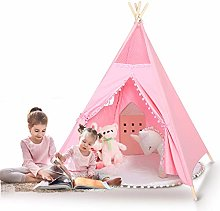 Teepee Tent Kids Portable Children Play Tent