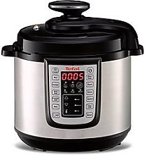 Tefal All-In-One Cy505 Pressure Cooker 6L - Black