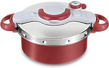Tefal Clipso Minut Duo Pressure Cooker, Stainless