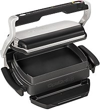 Tefal GC715D40 OptiGrill Plus with Snacking Tray,