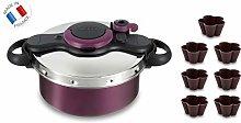 Tefal SEB Clipso Pressure Cooker, Aluminium,