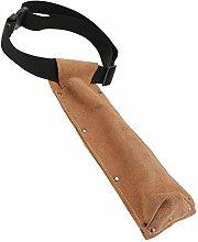 TEHAUX Welding Rod Bag Leather Electrode Flame