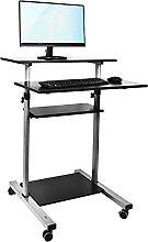 TekBox Standing Computer Desk - Home or Office