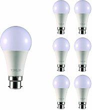 TEKLED® A60 LED Bulbs | B22 Bayonet Cap | Energy
