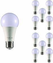 TEKLED® A60 LED Bulbs | E27 Edison Screw | Energy