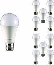 TEKLED® A65 LED Bulbs | E27 Edison Screw | Energy