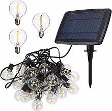 TEKLED® LED Outdoor String Lights | 25 LED G40