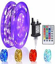 TEKLED® LED String Lights 10M | RGB Colour