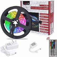 TEKLED® LED Strip Lights | 16.5FT RGB 150 LED