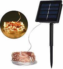 TEKLED® Solar String Fairy Lights | 240 Micro LED