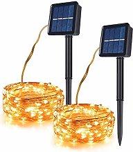 TEKLED® Solar String Fairy Lights | 2x120 (240