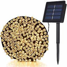 TEKLED® Solar String Lights | 200 LED Decorative