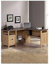 Teknik Office Ashton L Shaped Corner Desk