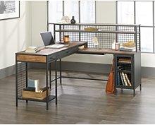 Teknik Office Boulevard L Shaped Desk with Black