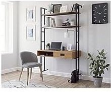 Teknik Office Hythe 1 Door Wall Mounted Desk -