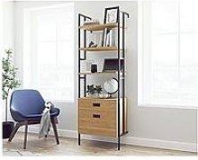 Teknik Office Hythe Wall Mounted Bookcase