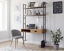 Teknik Office Hythe Wall Mounted Desk