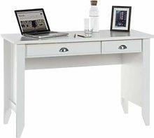 Teknik Office White Painted Desk