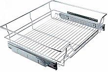 Telescopic drawer, kitchen drawer, extendable
