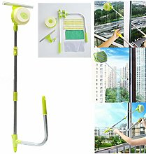 Telescopic Pole High-Rise Window Mirror Cleaning